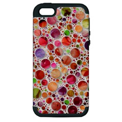 Lovely Shapes 2a Apple Iphone 5 Hardshell Case (pc+silicone) by MoreColorsinLife