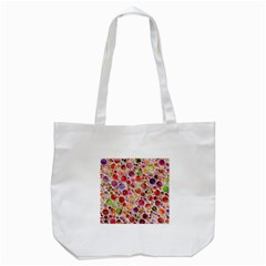 Lovely Shapes 2a Tote Bag (white) by MoreColorsinLife