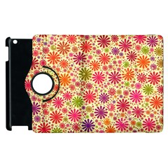 Lovely Shapes 3c Apple Ipad 2 Flip 360 Case by MoreColorsinLife
