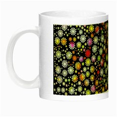 Lovely Shapes 4b Night Luminous Mugs by MoreColorsinLife