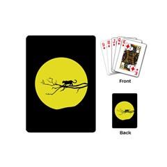 Jaguar Puma Animal Panther Cat Playing Cards (mini)  by Nexatart