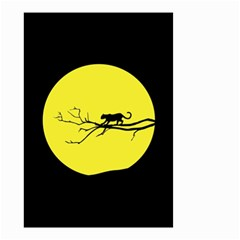 Jaguar Puma Animal Panther Cat Small Garden Flag (two Sides) by Nexatart