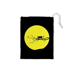 Jaguar Puma Animal Panther Cat Drawstring Pouches (small)  by Nexatart