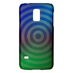 Blue Green Abstract Background Galaxy S5 Mini by Nexatart