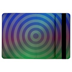 Blue Green Abstract Background Ipad Air 2 Flip by Nexatart