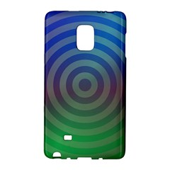 Blue Green Abstract Background Galaxy Note Edge by Nexatart