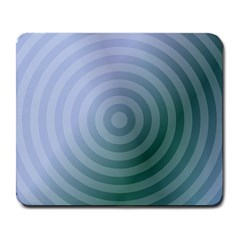 Teal Background Concentric Large Mousepads by Nexatart