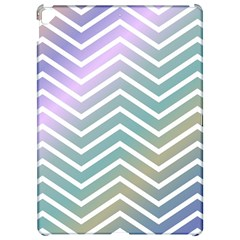 Zigzag Line Pattern Zig Zag Apple Ipad Pro 12 9   Hardshell Case by Nexatart