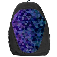 Triangle Tile Mosaic Pattern Backpack Bag by Nexatart