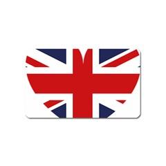 Uk Flag United Kingdom Magnet (name Card) by Nexatart