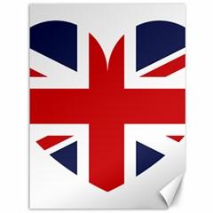 Uk Flag United Kingdom Canvas 36  X 48   by Nexatart