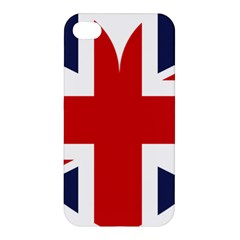 Uk Flag United Kingdom Apple Iphone 4/4s Hardshell Case by Nexatart