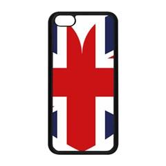 Uk Flag United Kingdom Apple Iphone 5c Seamless Case (black) by Nexatart