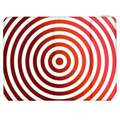 Concentric Red Rings Background Samsung Galaxy Tab 7  P1000 Flip Case by Nexatart