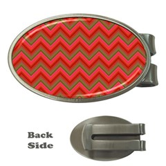 Background Retro Red Zigzag Money Clips (oval)  by Nexatart