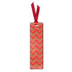 Background Retro Red Zigzag Small Book Marks by Nexatart