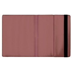 Blush Gold Coppery Pink Solid Color Apple Ipad 2 Flip Case by PodArtist