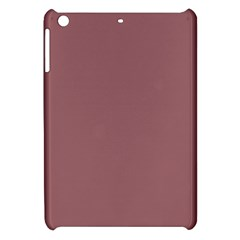 Blush Gold Coppery Pink Solid Color Apple Ipad Mini Hardshell Case by PodArtist
