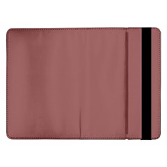 Blush Gold Coppery Pink Solid Color Samsung Galaxy Tab Pro 12 2  Flip Case by PodArtist