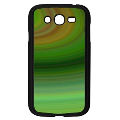 Green Background Elliptical Samsung Galaxy Grand Duos I9082 Case (black) by Nexatart