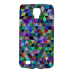 Triangle Tile Mosaic Pattern Galaxy S4 Active by Nexatart