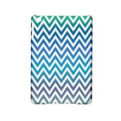 Blue Zig Zag Chevron Classic Pattern Ipad Mini 2 Hardshell Cases by Nexatart