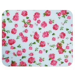 Lovely Roses  Double Sided Flano Blanket (medium)  by GabriellaDavid