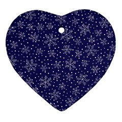 Pattern Circle Multi Color Ornament (heart) by Nexatart