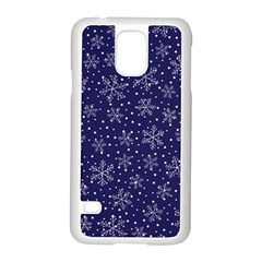 Pattern Circle Multi Color Samsung Galaxy S5 Case (white) by Nexatart
