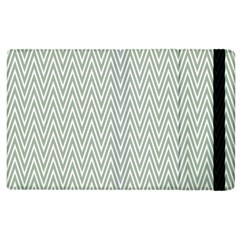 Vintage Pattern Chevron Apple Ipad 2 Flip Case by Nexatart