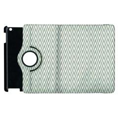 Vintage Pattern Chevron Apple Ipad 2 Flip 360 Case by Nexatart