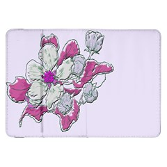 Bouquet Flowers Plant Purple Samsung Galaxy Tab 8 9  P7300 Flip Case by Nexatart