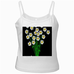 Bouquet Geese Flower Plant Blossom Ladies Camisoles