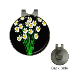 Bouquet Geese Flower Plant Blossom Hat Clips With Golf Markers by Nexatart