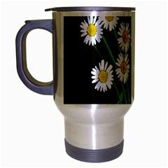Bouquet Geese Flower Plant Blossom Travel Mug (silver Gray) by Nexatart