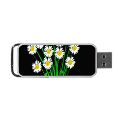 Bouquet Geese Flower Plant Blossom Portable Usb Flash (two Sides) by Nexatart