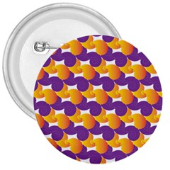 Pattern Background Purple Yellow 3  Buttons by Nexatart