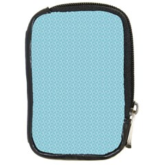 Blue Pattern Background Texture Compact Camera Cases by Nexatart