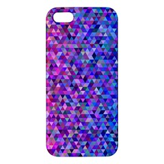Triangle Tile Mosaic Pattern Iphone 5s/ Se Premium Hardshell Case by Nexatart