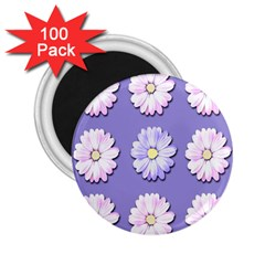 Daisy Flowers Wild Flowers Bloom 2 25  Magnets (100 Pack)  by Nexatart