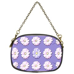 Daisy Flowers Wild Flowers Bloom Chain Purses (one Side)  by Nexatart