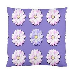 Daisy Flowers Wild Flowers Bloom Standard Cushion Case (one Side) by Nexatart