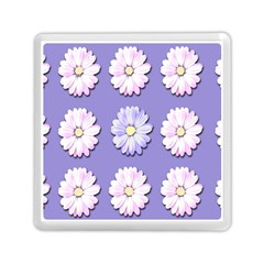 Daisy Flowers Wild Flowers Bloom Memory Card Reader (square)  by Nexatart
