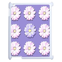 Daisy Flowers Wild Flowers Bloom Apple Ipad 2 Case (white) by Nexatart