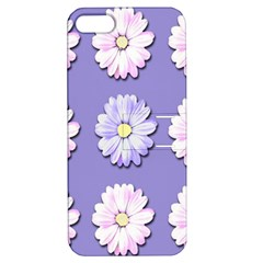 Daisy Flowers Wild Flowers Bloom Apple Iphone 5 Hardshell Case With Stand by Nexatart