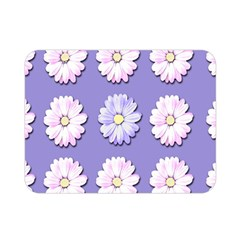 Daisy Flowers Wild Flowers Bloom Double Sided Flano Blanket (mini)  by Nexatart