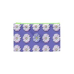 Daisy Flowers Wild Flowers Bloom Cosmetic Bag (xs) by Nexatart