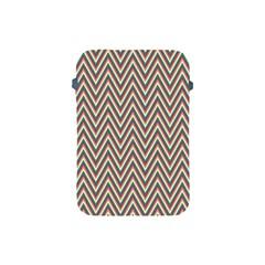 Chevron Retro Pattern Vintage Apple Ipad Mini Protective Soft Cases by Nexatart