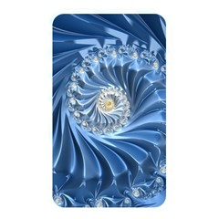 Blue Fractal Abstract Spiral Memory Card Reader by Nexatart