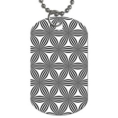 Seamless Pattern Repeat Line Dog Tag (two Sides) by Nexatart